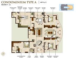 8000 Sq Ft House Plans Luxury Apartments In Calicut Floor Plans Riviera Grand Luxury