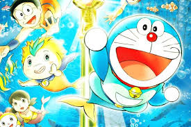 wallpaper doraemon the movie doraemon cartoon poster paper print animation cartoons posters