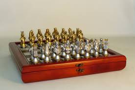 resin camelot chess set newcentco board games
