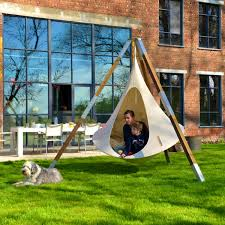 Hanging Tent by Furniture Extraordinary Hanging Tent Single Chair Natural White