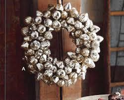 roost mercury glass mini ornaments ornament wreath modish store