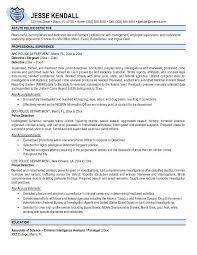 Sample Resume Police Officer by 28 Sample Resume For Law Enforcement Free Law Enforcement