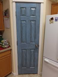 antiquing glazing my boring pantry door painted two coats of behr