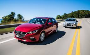 mazda car and driver 2014 mazda 3 vs 2014 ford focus comparison test u2013 review u2013 car