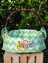easter baskets for boys personalized easter basket liners for or boys 5 colors