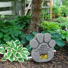 pet memorial personalized pet memorial stones ebay