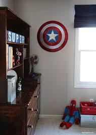 Captain America Bedroom by Superhero Room I Heart Nap Time