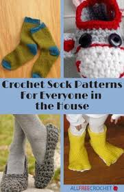 18 crochet sock and slipper patterns for everyone in the house
