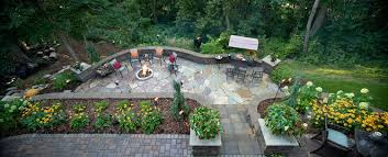 landscaping transforms steep slope in apple valley mn southview