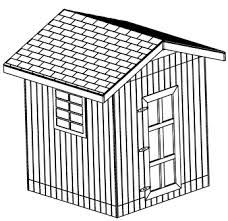 8x8 gable shed plans outdoor storage shed plans immediate download