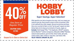 hobbylobby com hobbylobby com promo coupon 40 off a single item at hobby lobby