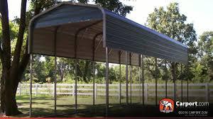 12x24 Carport Rv Carport 12 U0027 X 36 U0027 Regular Metal Roof Shop Metal Carports Online