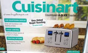 Cuisinart Toaster 4 Slice Costco Cuisinart Countdown 4 Slice Toaster Frugal Hotspot