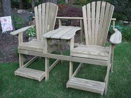 Diy Wooden Deck Chairs by Creative Diy Wooden Balcony Furniture Table Chairs With Glaze