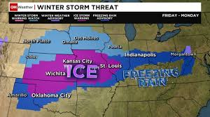 us weather map monday weekend targets midsection of the us cnn