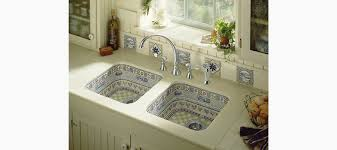 life in the country design clay tones under mount sink k 14578