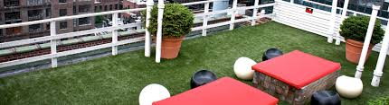 Backyard Decks And Patios Synlawn Roof Deck And Patio System Artificial Grass Products