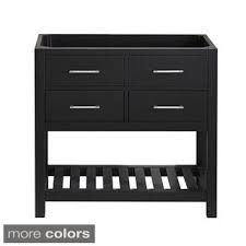 Virtu USA Caroline Estate Inch Single Sink Cabinet Only - 36 inch single sink bathroom vanity