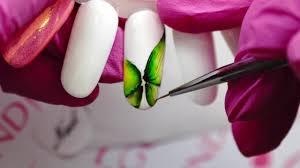 nail art inspiration summer butterfly youtube