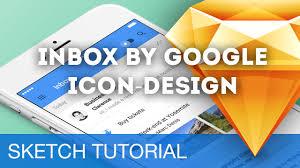 sketch 3 tutorial u2022 inbox by google icon design u2022 sketchapp