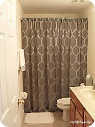 bathroom with shower curtains ideas guest bathroom shower curtain ideas bathroom ideas