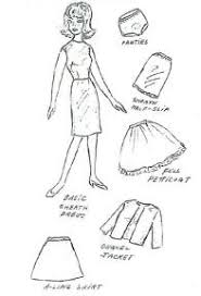free printable classic doll clothes patterns entire