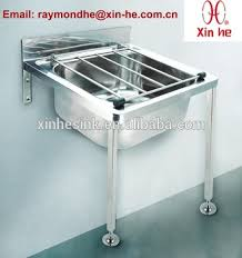 wall mounted ss sink eu wall hung floor mounted stainless steel bucket sink cleaners sink