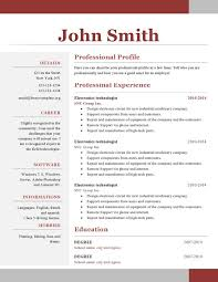 resume templates downloads professional resume template word doc cv templates 61 free