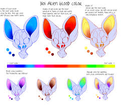 xioi blood color chart by fluffymonstrosity on deviantart xioi blood color chart by fluffymonstrosity