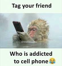 Old Cell Phone Meme - dopl3r com memes tag your friend caresa who is addicted to