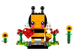 lego brickheadz valentine u0027s bee 40270 seasonal 2018 set