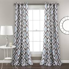 Boho Window Curtains Geo Boho Window Curtains