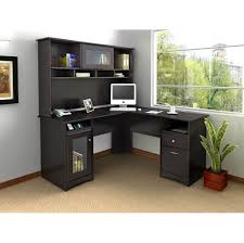 Office Depot Desk Ls Furniture Black Corner Office Table With Hutch And Storage
