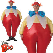 Tweedle Dee Tweedle Dum Halloween Costumes Tweedle Dee Clothes Shoes U0026 Accessories Ebay