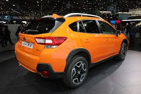 subaru crosstrek 2018 colors 2018 subaru crosstrek debuts in geneva automobile magazine