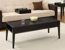 furniture cool espresso modern coffee table design ideas with