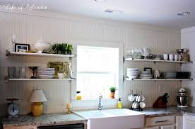 kitchen shelves decorating ideas kitchen minimalist white open kitchen shelving on white beadboard