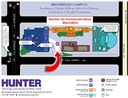 Nih Campus Map Hunter College Nyc Aphasia Groups