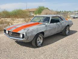 69 camaro ss project car for sale 1969 chevrolet camaro ss x55 hugger orange sport pro