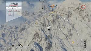 Alps Mountains Map All Coordinates For Mountain Stories And Drop Zones Forums