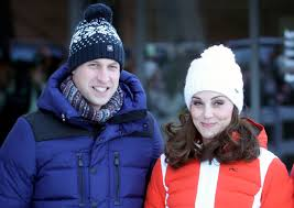 william and kate prince william and kate middleton are snow bunnies in norway