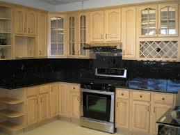 Black Painted Kitchen Cabinets Brilliant White Kitchen Idea Colour Schemes