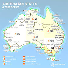 South States Map by Australia Region Map States Map Of Australia Australian Best