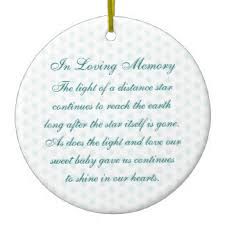 baby memorial ornaments keepsake ornaments zazzle