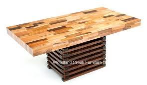 butcher block table designs butcher block table stunning decoration butcher block dining table