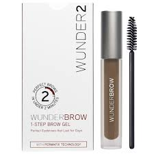 wunderbrow perfect eyebrows in 2 mins brunette amazon co uk
