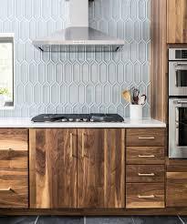 mid century modern walnut kitchen cabinets a remodel by dubinsky korn interprets midcentury