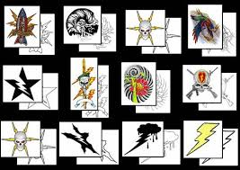 lightning bolt tattoos what do they mean tattoos designs