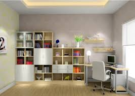 wall design in study room 3d house