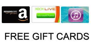 free gift cards online how to get free itunes xbox play paypal and gift